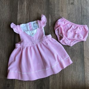 Ralph Lauren Two-Piece Dress and Bloomers Set